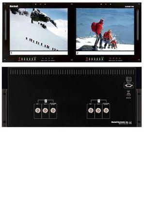 Image de V-R102DP-2SDI Dual 10.4' LCD Rack Mount Panel with 2 SDI Inputs per panel