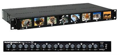 Image de V-R28P-SDI 2.0' X 8 LCD Rack Mnt. Panel, SDI version