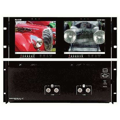 Image de V-R82DP-HDSDI Dual 8.4' LCD Rack Mount Panel with HDSDI Input
