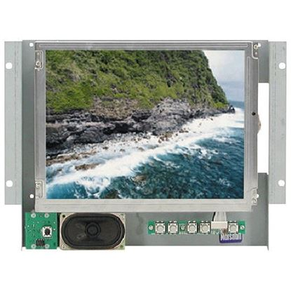 Picture of V-LCD10.4-P 10.4' active matrix color LCD panel with wall mounting & audio